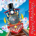 "Napkin-Birthday-Train ""Grow in grace"":  0759830210546"