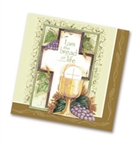 Napkins-Communion Cross & Chalice: 0759830222433