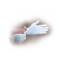 "Gloves-White Cotton-Large (9""-10""): 9780805471250"