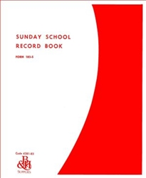 Sunday School Record Book: 9780805480443