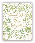 Note Card-Thank You For Your Sympathy: 081983599620