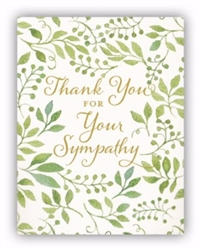Note Card-Thank You For Your Sympathy-2 Samuel 2:5 NIV: 081983599620
