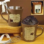"""My Cup Runneth Over"" Cake Mug - Chocolate Mug Cake: 095177559253"