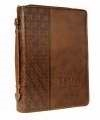 Bible Cover-Classic Luxleather-Trust-Large: 6006937111349