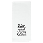 Tea Towel-Bless This Food: 6006937144637