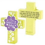 "5""  I SAID A PRAYER CROSS: 603799084406"