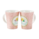 MUG MUG-NEW BONE CHINA-13 OZ.FRIEND: 603799575126