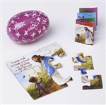 Easter Egg-Jesus Makes All Things New Jigsaw Puzzle And Booklet: 615122138236