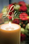 Bulletin-Funeral-Life (Pack Of 100): 730817352442