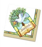 "Napkin-Confirmation: Dove (6.5"" X 6.5""): 759830222501"