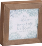 Box Plaque-Call Her Blessed: 767722204795