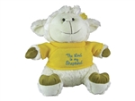 Toy-Plush-Lamb w/Sweater: 788200110018