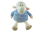 Toy-Plush-Lamb-Boy Sitting: 788200110148