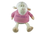Toy-Plush-Lamb-Girl Sitting: 788200110155