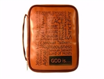 Bible Cover-Imitation Leather-Names Of Jesus: 788200540389