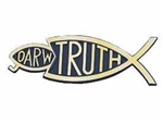 Auto Decal-3D Darw/Truth-Large (Gold): 788200564460
