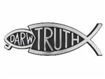 Auto Decal-3D Darw/Truth-Large (Silver): 788200564569