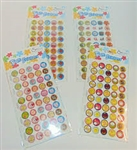 Smile Stickers-50 Per Pack: 788200608263