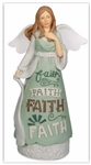 Figurine-Faith Angel: 798890740129