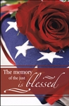 Memory Of The Just Is Blessed (Funeral): 813270023958