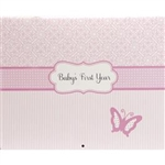 Baby's First Year Calendar - Girl: 82272806832