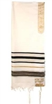 Tallit-12 Tribes Prayer Shawl-Black: 845246000878