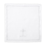 Cross & Dove Baptismal Napkin: 886083606021