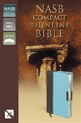NASB Thinline Bible/Compact: 9780310429586