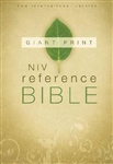 NIV Giant Print Reference Bible: 9780310435006
