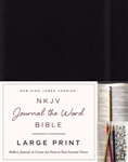 NKJV Journal The Word Bible/Large Print: 9780718090838