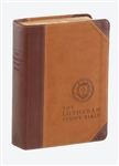 ESV Lutheran Study Bible/Compact-Brown DuoTone: 9780758638540