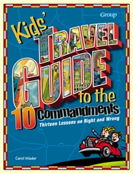 Kids' Travel Guide To The Ten Commandments: 9780764422249