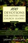 100 Devotions For Pastors And Church Leaders V1: 9780825433757