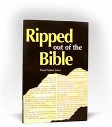 Ripped out of the Bible by Jones: 9780974975467
