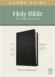 NLT Thinline Reference/Large Print Bible/Filament Enabled Edition: 9781496444905