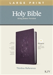 KJV Large Print Thinline Reference Bible/Filament Enabled Edition: 9781496447180