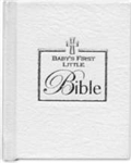 Baby's First Little Bible-White: 9781591779285