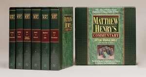 Matthew Henry's Commentary 6V: 9781598568226