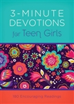 3-Minute Devotions For Teen Girls: 9781630588564