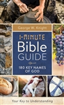 1-Minute Bible Guide: 180 Key Names Of God 180 Key Names Of God  : 9781643522869