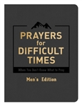 Prayers For Difficult Times: Men's Edition-DiCarta: 9781683226154