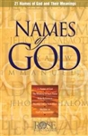 Names Of God Pamphlet: 9781890947507