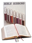 Bible Ribbon-New Wine-Burgundy (Eph 5:18): 978590063049