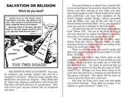 Salvation or Religion