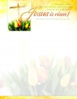 Letterhead-Easter-Jesus is Risen!: 0730817345604