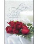 Bulletin-Wedding-Love Yesterday Today Forever: 730817308296