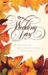 Bulletin-Wedding-Our Wedding Day: 0730817337869