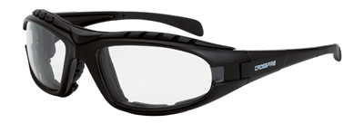 Radians Crossfire Diamond Back Foam Lined Safety Eyewear