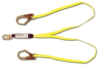 FrenchCreek Dual Leg Shock Absorbing 100% Tie Off Lanyard 444A