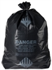 "36"" x 60"" Black ACM Waste Bags"